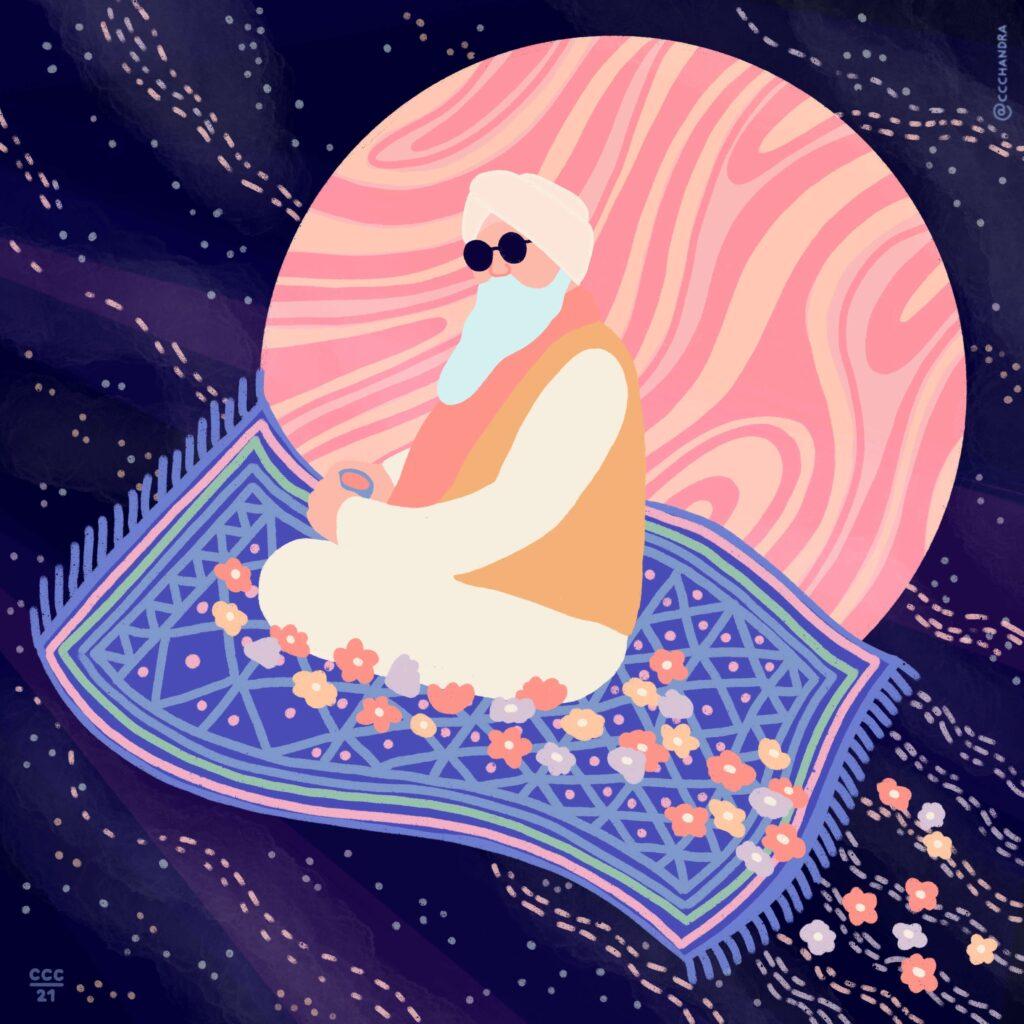 guru dev tappeto
