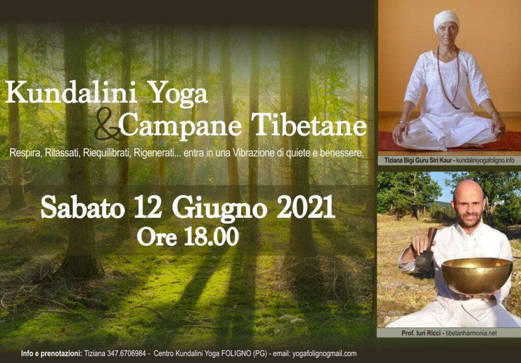 kundalini yoga foligno campane tibetane